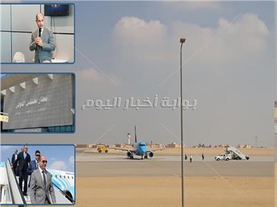 صور| وضع اللمسات الأخيرة لـ«مطار سفنكس».. وبدء التشغيل 25 يناير