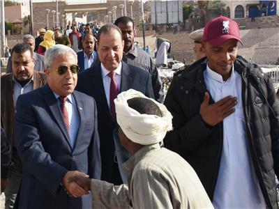 اللواء أحمد إبراهيم محافظ أسوان