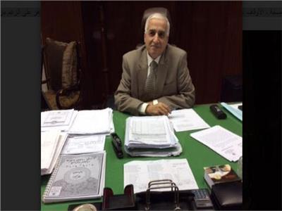 المستشار عمر ضاحى رئيس المكتب الفنى