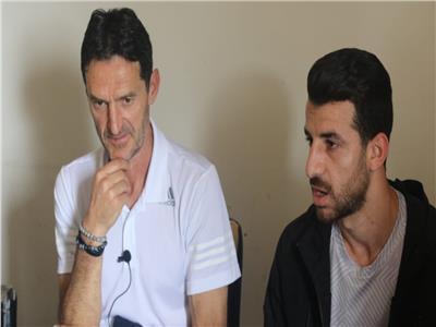 مدافع الإسماعيلي خلتل المؤتمر الصحفي