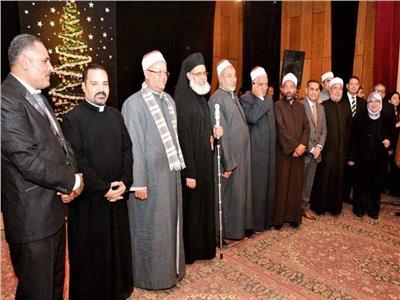 مطران المنيا للأقباط الكاثوليك يشارك في احتفالية بعيد الميلاد