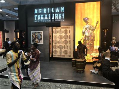 الأفارقة يتغنون بمحمد صلاح في معرض هانوفر الدولي