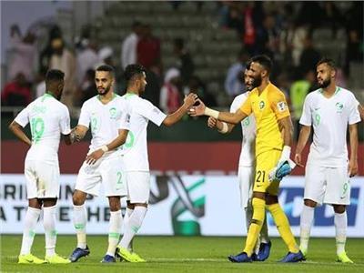 فرحة لاعبي السعودية بالفوز