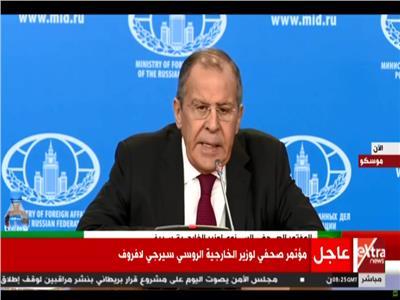 وزير الخارجية الروسي سيرجى لافروف