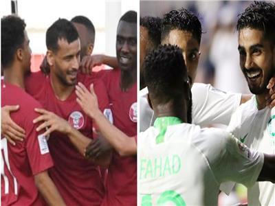 السعودية وقطر في كأس آسيا