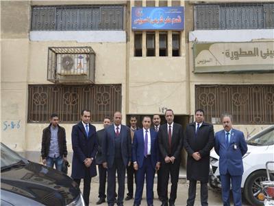 إفتتاح قسم الطب الشرعى بالسويس لخدمة محافظتى السويس وجنوب سيناء