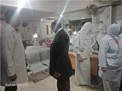 وكيل وزارة الصحة بأسيوط يتفقد عددا من مستشفيات