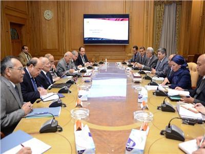 وزراء الدولة للإنتاج الحربي والتنمية المحلية والبيئة ورئيس الهيئة العربية للتصنيع