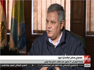 رئيس الشركة القابضة للمياه والصرف الصحي محمد رسلان