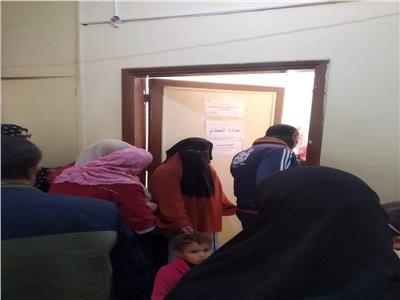 إقبال كبير من مواطني جنوب سيناء قافلة طب الازهر