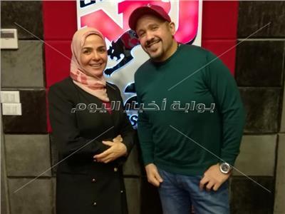 هشام عباس ومنى عبد الغنى