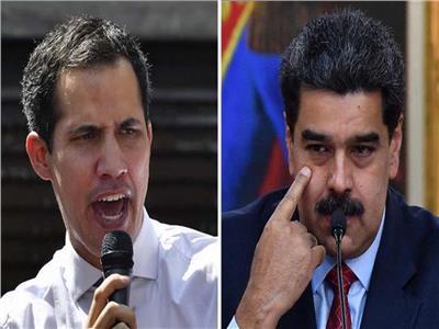 نيكولاس مادورو وخوان جوايدو