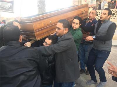 جنازة الكاتب مصطفى بلال