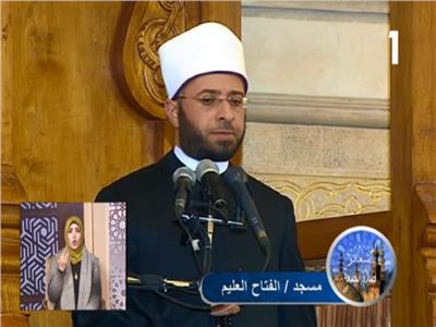 الدكتور أسامة الأزهري مستشار رئيس الجمهورية للشئون الدينية
