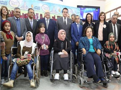 افتتاح أول قاعة تعليمية للأشخاص ذوى الإعاقة بكلية الاداب جامعة عين شمس.
