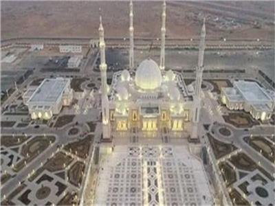 """مسجد """"الفتاح العليم"""" بالعاصمة الإدارية"""