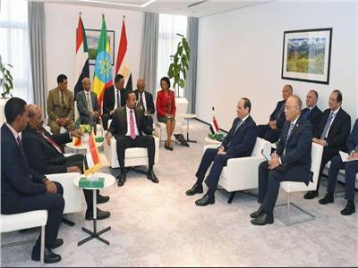 الرئيس عبد الفتاح السيسي في أديس أبابا