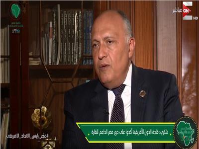 السفير سامح شكري - وزير الخارجية