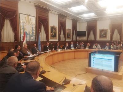 اجتماع محافظ القاهرة مع أعضاء مجلس النواب عن المنطقة الجنوبية