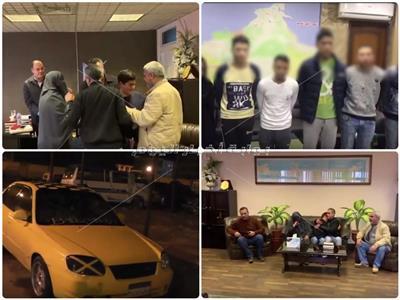 إستجابة سريعة لبلاغ إختطاف طالب بالأسكندرية وإعادته سالما لأسرته