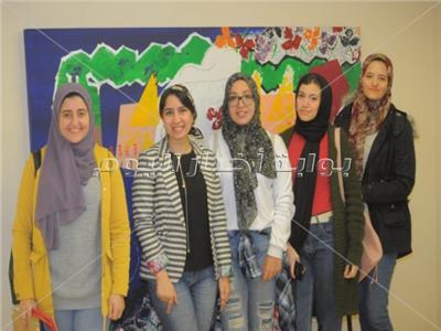 افتتاح معرض الدكتورة ابتسام الجيزاوي