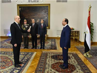 د.عاصم الجزار يؤدي اليمين الدستوري أمام الرئيس السيسي