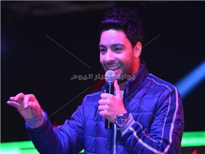 أحمد جمال خلال الحفل