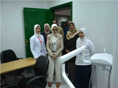 وزيرة الصحة تفتتح وحدة صحة أسرة الشيخ موسى بالأقصر