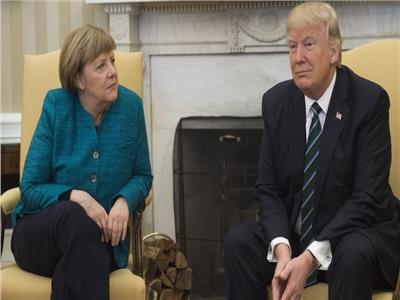 دونالد ترامب وأنجيلا ميركل