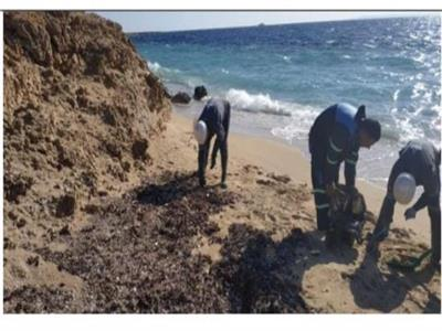 شاطئ محمية رأس محمد