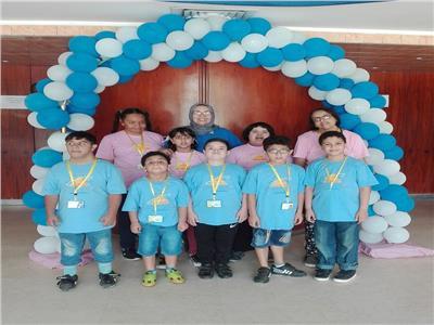 """أطفال متحف الطفل  يشاركون في """"مؤتمر تمكين أولادنا القادرون باختلاف """""""