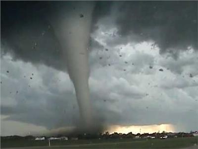 الإعصار «أوما»بأستراليا والذي بلغ الفئة الثالثة