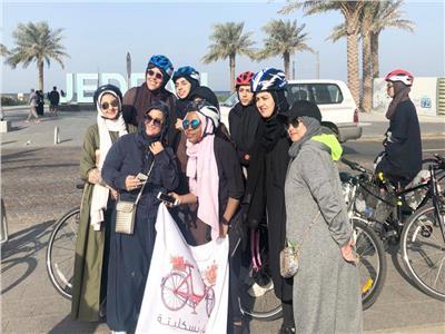 «بسكليتة»..فريق من 500 فتاة يسعى لتغيير الصورة النمطية للسعوديات
