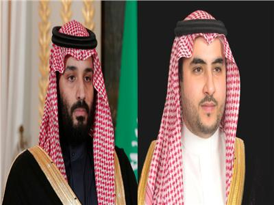 الأميران خالد بن سلمان ومحمد بن سلمان