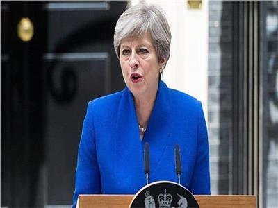 رئيسة وزراء بريطانيا تريزا ماي