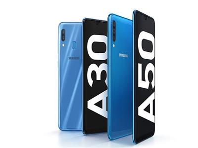 هاتفي Galaxy A50 وGalaxy A30