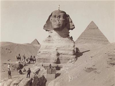 تمثال أبو الهول قديما