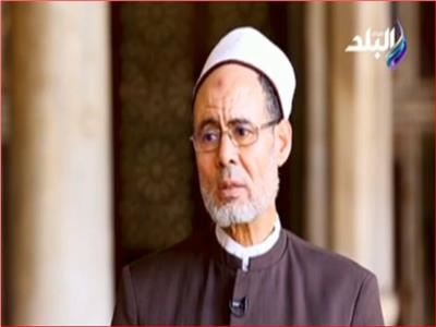 الشيخ عيد كيلانى مدير المساجد الحكومية بوزارة الأوقاف
