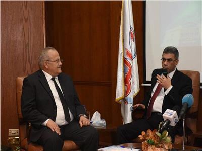 رزق:مؤتمرالتعليم الثاني بين جامعة القاهرة ومؤسسه أخباراليوم يهدف إلي زياده أيقاع عمليه التعليم