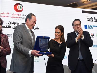 ملتقى الأعمال المصري اللبناني يكرم وزيرة الاستثمار والتعاون الدولي