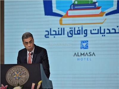 الكاتب الصحفي ياسر رزق، رئيس مجلس إدارة مؤسسة «أخبار اليوم»