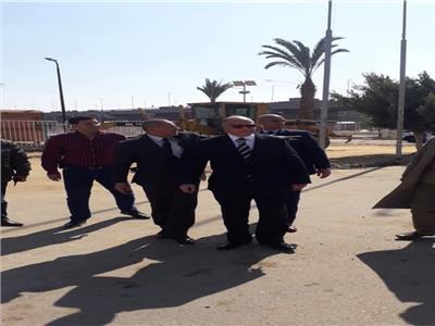 محافظ القاهرة يتفقد محيط استاد القاهرة