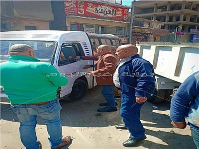 حملات على سيارات السرفيس بكوبرى ناهيا بالجيزة