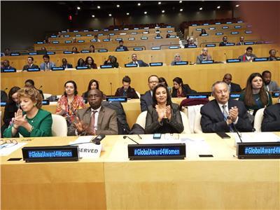 وفد مصر يشارك في الدورة 63 للجنة وضع المراة  بالأمم المتحدة