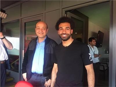 عمرو أديب ومحمد صلاح
