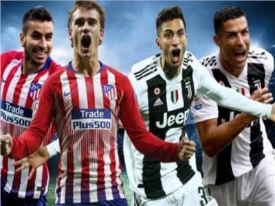 نجوم فريقي يوفنتوس وأتلتيكو مدريد