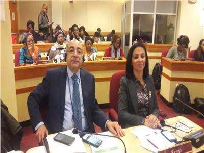 مايا مرسي تشارك في أعمال الدورة 63 للجنة وضع المراة بالأمم المتحدة
