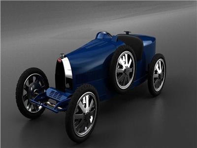 بالصور- تعرف على أرخص وأصغر سيارة بوجاتي في العالم
