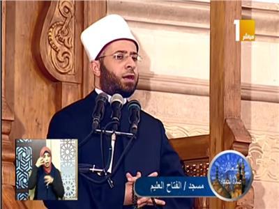 الدكتور أسامة الأزهري، مستشار رئيس الجمهورية للشئون الدينية