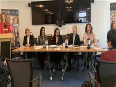 مايا مرسي: أهمية وجود الرجال والنساء ممن يؤمنون بقضايا المرأة في البرلمانات